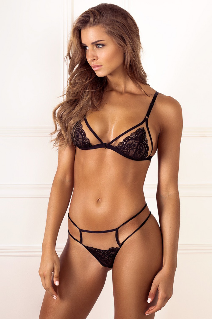 Black Peekaboo Set