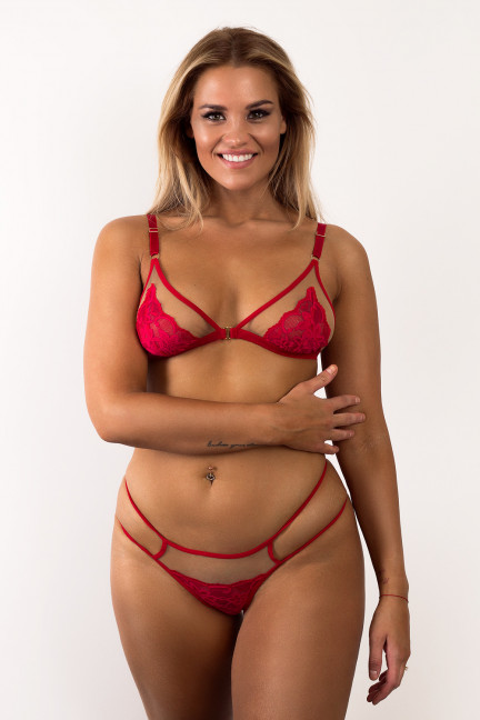 Red Peekaboo Set