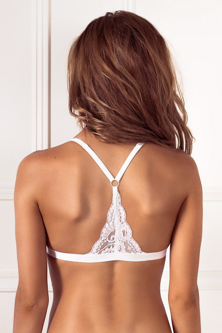 White Lace Bralette Set