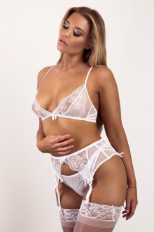Sweet White Lace Set